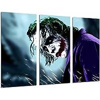 Poster Moderno Fotografico Batman y el Joker, superheroe, 97 x 62 cm, ref. PST26591