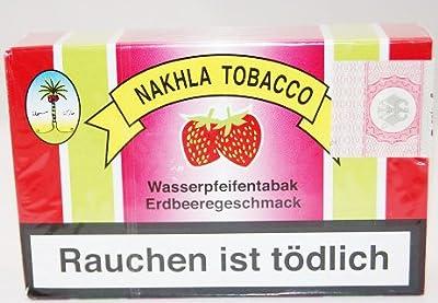 Wasserpfeifentabak Nakhla MIZO Erdbeere 50g von Nakhla Tabacco