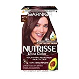 Garnier Nutrisse 4.15 Iced Coffee Brown Permanent Hair Dye