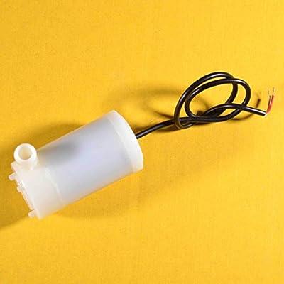 UTRONIX Mini Submersible Aquarium Pompe à Eau pour Arduino et BBC Micro?: Bits 3–6V