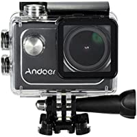 Andoer 4K 30FPS 1080P 60FPS Full HD DV 16M 2.0in LTPS LCD Pantalla Wifi Impermeable 173 ° Gran Angular Acción Cámara Coche DVR Video