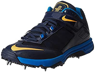 Nike Men's Obsidian, Atomic Mango, Pht Blue Bl Noi and Atmmgo Thotob Cricket Shoes - 5.5 UK/India (38.5 EU)(6 US)