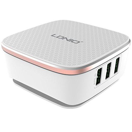 Uhppote 6porte USB 7a home Wall Travel Wall desktop caricabatterie rapido 2.0adattatore di alimentazione ca