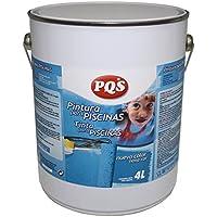 128213-PINTURA AZUL Piscinas al Clorocaucho. 4 Lt. (5 kg)-