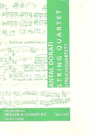 Streichquartett Partitur und Stimmen