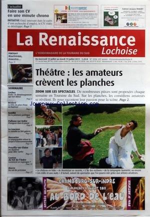 RENAISSANCE LOCHOISE (LA) [No 3356] du 13/07/2011