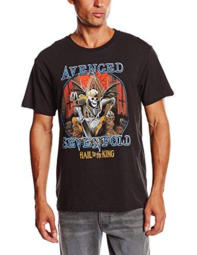Avenged Sevenfold - Deadly Rule, Short sleeve da uomo, nero (black), M