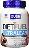 USN Diet Fuel Ultralean Weight Control Meal Replacement Shake Powder, Strawberry Cream - 1 kg