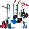Deuba Treppenkarre Sackkarre - 200kg Belastbarkeit - Stapelkarre Transportkarre Sicherheits-Haltegriffe klappbare Ladeschaufel von Deuba auf Du und dein Garten