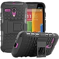 Per Motorola Moto G (solo prima generazione), robusta custodia protettiva,
