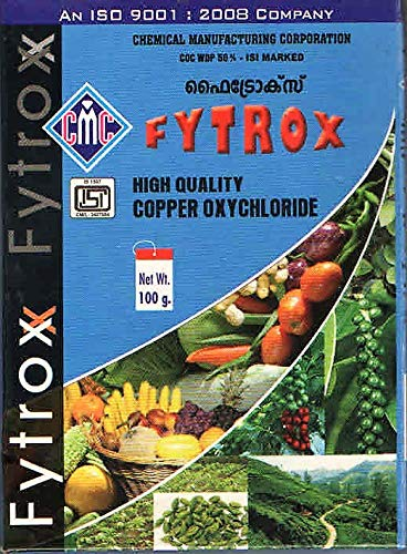FYTROX Copper Oxychloride Fungicide for All Crops 100 GMS