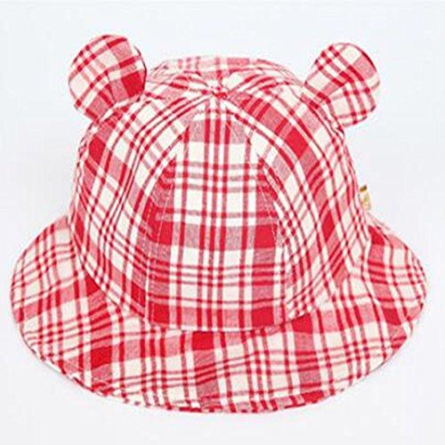 Hut Baby weibliche Baby Hut 0-3-6-12 Monate Herbst Becken Mütze Sonnenhut Sommer Sonnenhut Fischer ()