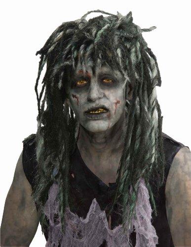 Zombie Rocker Adult Costume Wig (Kostüme Dirty Adult)