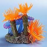 Bobury Künstliche Harz Koralle Aquarium Fisch Tank Ornament U-Boot Unterwasser