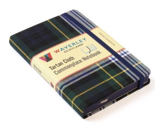 Dress Gordon: Waverley Genuine Tartan Cloth Commonplace Notebook (9cm x 14cm) (Waverley Scotland Tartan Cloth Commonplace Notebooks/Gift/Stationery/Plaid)