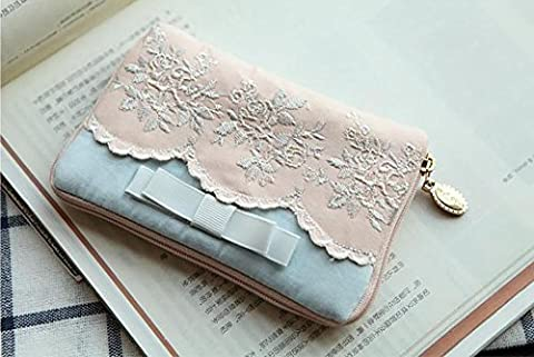 Lace Travel Jewelry Stockage Bag Boucles d
