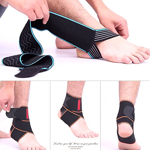 6c59e2e509 Beskey Ankle Support, Adjustable Ankle Brace Breathable Nylon Material Super  Elastic ...