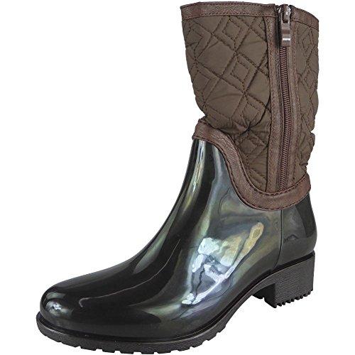 Gomma Basso Tacco 36 Polpaccio Stivali Wellington Formato Marrone A 41 Pioggia In Medio Donne Inverno Di Stivali Le pnYnOwq0
