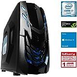 One Gaming Ultra High End GX PC 08· Intel i7–7700K (4x 4.20GHz) · 8GB nVidia Geforce GTX 1070· 16GB DDR4RAM · 240GB SSD · 1000GB HDD · MSI EX-Z270a Pro · Windows 10Home · Silencioso Gaming PC · VR Ready · kaby Lake · 4K