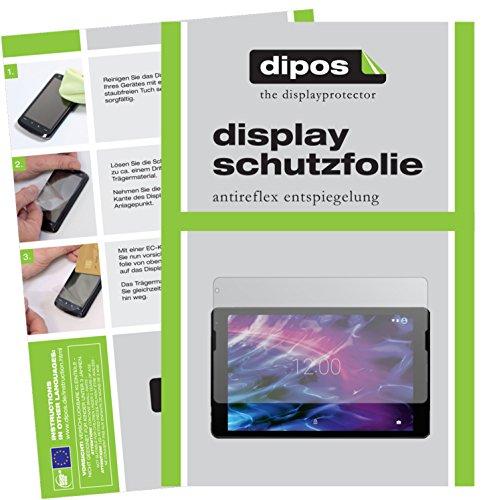 dipos I 2X Schutzfolie matt passend für Medion Lifetab E10411 Folie Displayschutzfolie