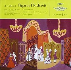 Mozart: FIGAROS HOCHZEIT (Ausschnitte in deutscher Sprache) [Vinyl LP] [Schallplatte]