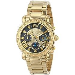"Just Bling Ladies JB-6210-B ""Bronx"" Gold-Tone Diamond Watch"