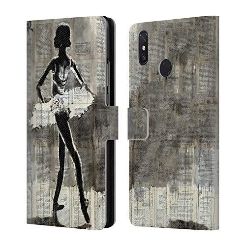 Head Case Designs Offizielle LouiJoverArt Anastasia Abbildungen Leder Brieftaschen Huelle kompatibel mit Xiaomi Mi Max 3