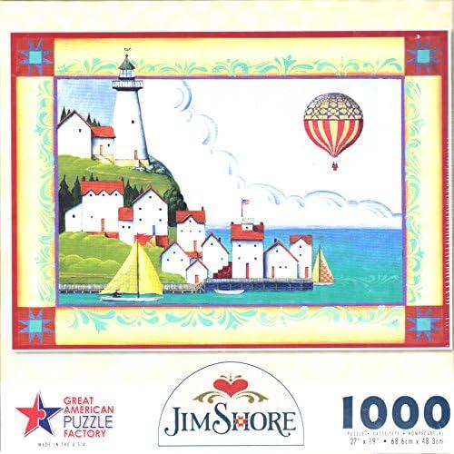 Great American Jim Shore Coastal Village Jigsaw Puzzle | Des Technologies Sophistiquées
