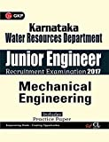 Karnataka Water Resources Department Junior Engineer Mechanical Engineering 2017