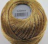 Glitter Gründl Wolle Häkelgarn 25 g Farbe 8210