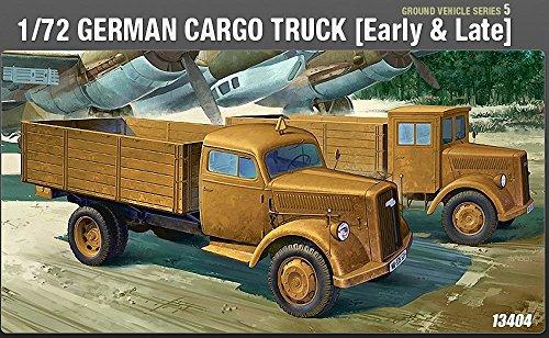 ACADEMY Opel Blitz German Cargo Truck (Early&Late) - Truck Cargo-zubehör