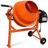 Betonmischer Elektrische aus Stahl mit Orange 63L 220W
