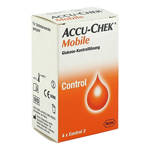 Accu Chek Mobile Kontrolllösung, 1X4 St