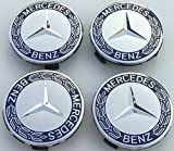 4x Original Mercedes Benz Wheel cover Laurel wreath for sale  Delivered anywhere in UK