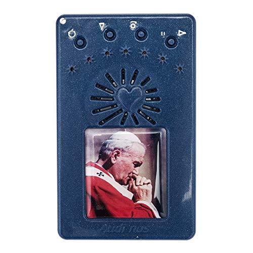 Holyart Rosario Electrónico Azul Juan Pablo II Corona, 5