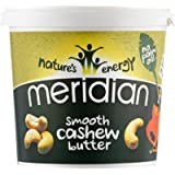 Meridian Smooth 100% Nuts Cashew Butter, 1Kg