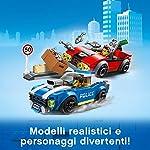 LEGO-City-Police-Arresto-su-Strada-della-Polizia-Set-di-Costruzione-Ricco-di-Dettagli-con-le-Minifigure-del-Tenente-Duke-Detain-e-del-Criminale-Vito-per-Bambini-5-Anni-60242