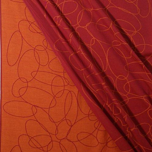 Didymos Tragetuch 461002, Modell Ellipsen rubin-mandarine - 3