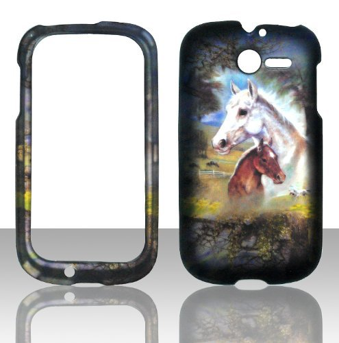 2d-racing-pferd-huawei-ascend-y-m866-tracfone-us-cellular-schutzhulle-hard-case-snap-on-cover-gummie