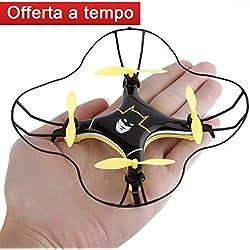 FPVRC RC Quadcopter Mini Drone Modalità di rotolamento 3D Una Chiave per il ritorno Mini UFO Quadricottero 2.4G 4CH 4 Axis Modalità senza testa Volo invertito