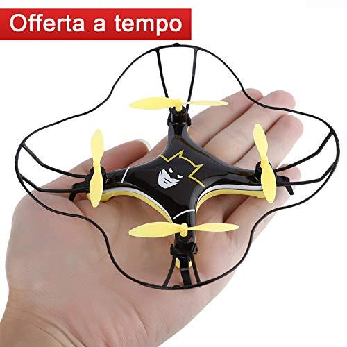 FPVRC RC Quadcopter Mini Drone Modalità di rotolamento 3D Una Chiave per il ritorno Mini UFO...