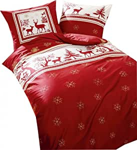 kaeppel bettw sche biber weihnachten christmas night k che haushalt. Black Bedroom Furniture Sets. Home Design Ideas
