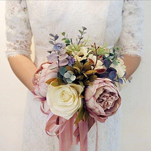 disposizione vaso europeo semplice fiore fiori artificiali La sposa ha