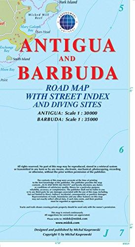 Descargar Libro Antigua /Barbuda : 1/30 000 de Collectif