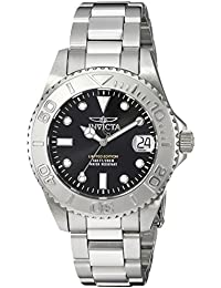 Invicta 24631 Pro Diver Reloj para Mujer acero inoxidable Cuarzo Esfera  negro de93e09c62d1
