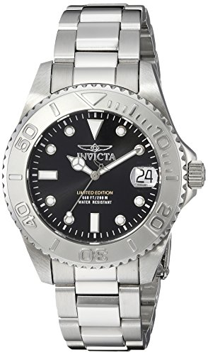 Invicta 24631 Pro Diver  Women's Wrist Watch Stainless Steel Quartz Black Dial