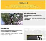 HiKam A7 Überwachungskamera für Außenbereich fehlalarmfrei mit Personendetektion | kostenlose Cloud-Speicherung in Deutschland | WLAN IP Kamera HD Outdoor | Datensicherheit mit deutscher Server App Anleitung Support - 5