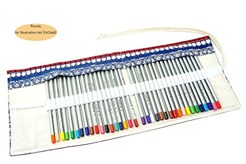 CROOGO Neuer Künstler Studenten Bleistifte Bleistift Kasten hält 36 Bleistifte Kleiner Elefant (Bleistifte NICHT enthalten)