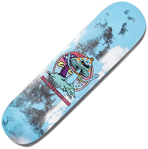 Primitive Rick & Morty Herr meeshrooms 20,3cm Skateboard Deck (Skateboards-deck Primitive)