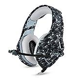Docooler ONIKUMA K1 3.5mm Gaming Headsets mit Mikrofon Stereo Sound Noise Reduction Musik Kopfhörer für PC Neue Xbox Laptop DS PSP